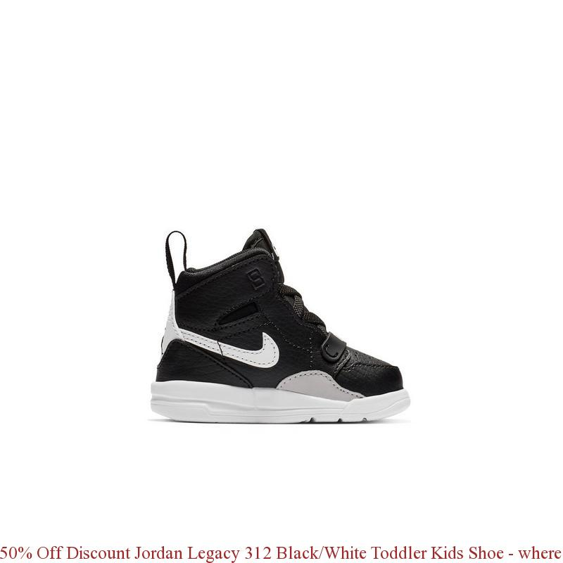 059496b4f4d 50% Off Discount Jordan Legacy 312 Black White Toddler Kids Shoe ...