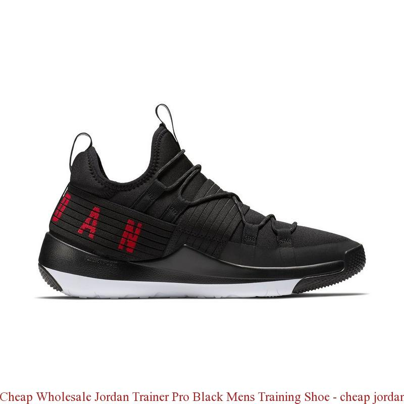 a4bbd579b05 Cheap Wholesale Jordan Trainer Pro Black Mens Training Shoe – cheap jordans  retro 11 ...